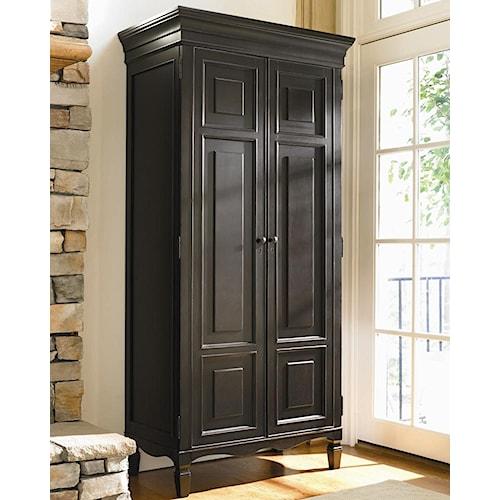 Universal Summer Hill 2 Door Tall Cabinet