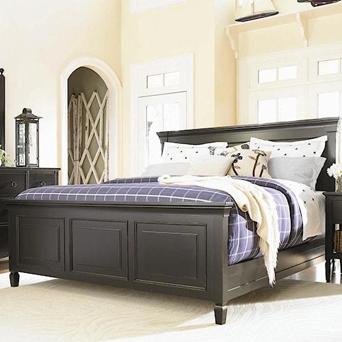 Universal Summer Hill Complete Queen Panel Bed