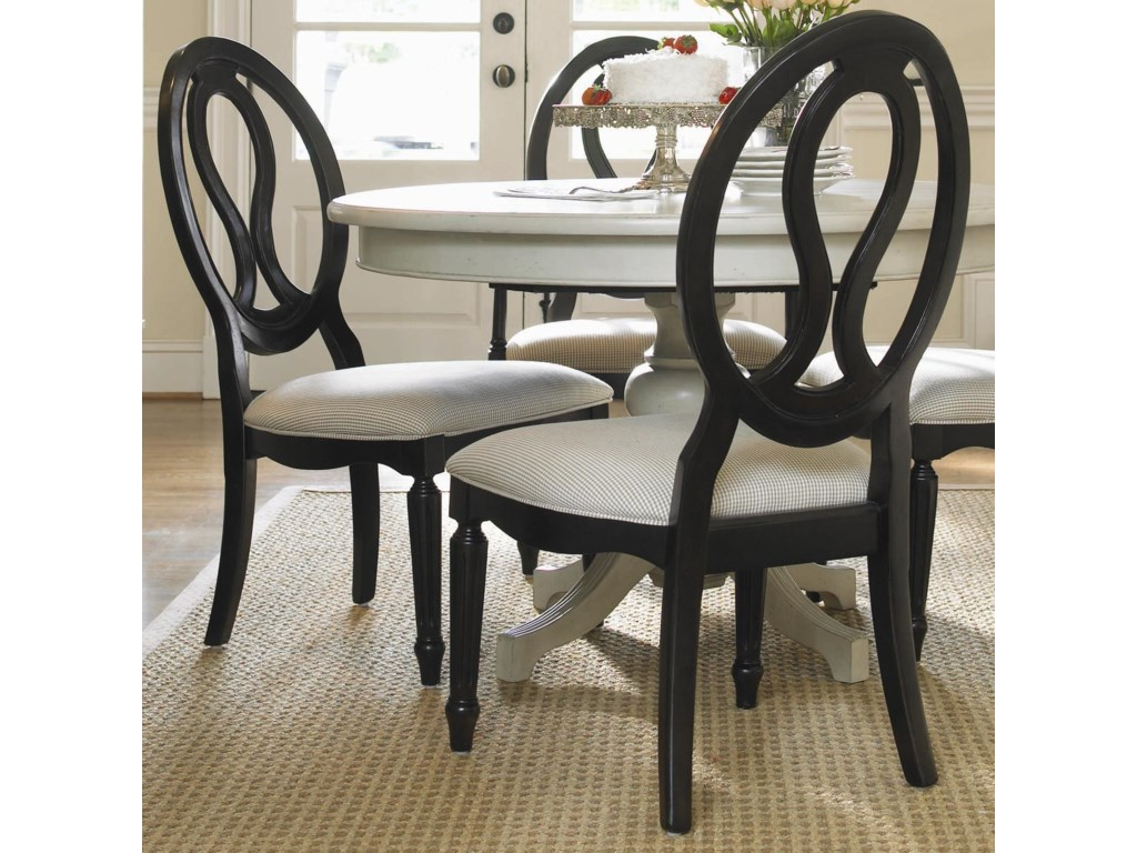 Universal Summer HillPierced Back Side Chair