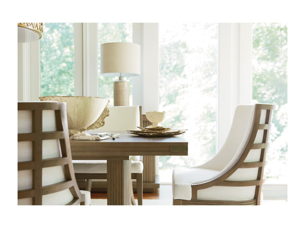 Universal Synchronicity7 Piece Rectangular Table and Chair Set