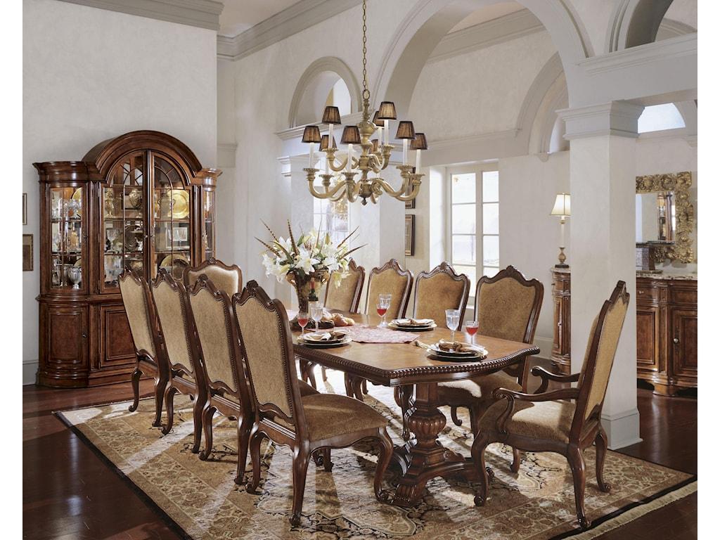 Universal Villa CortinaUpholstered Back Side Chair