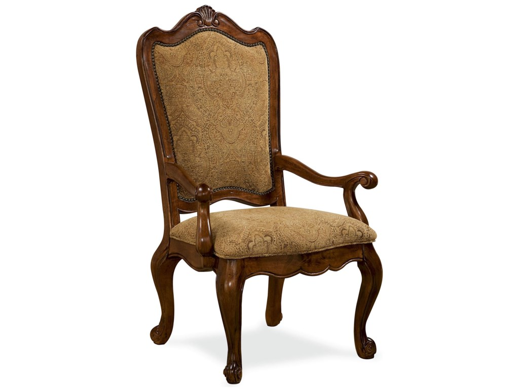 Universal Villa CortinaUpholstered Back Arm Chair
