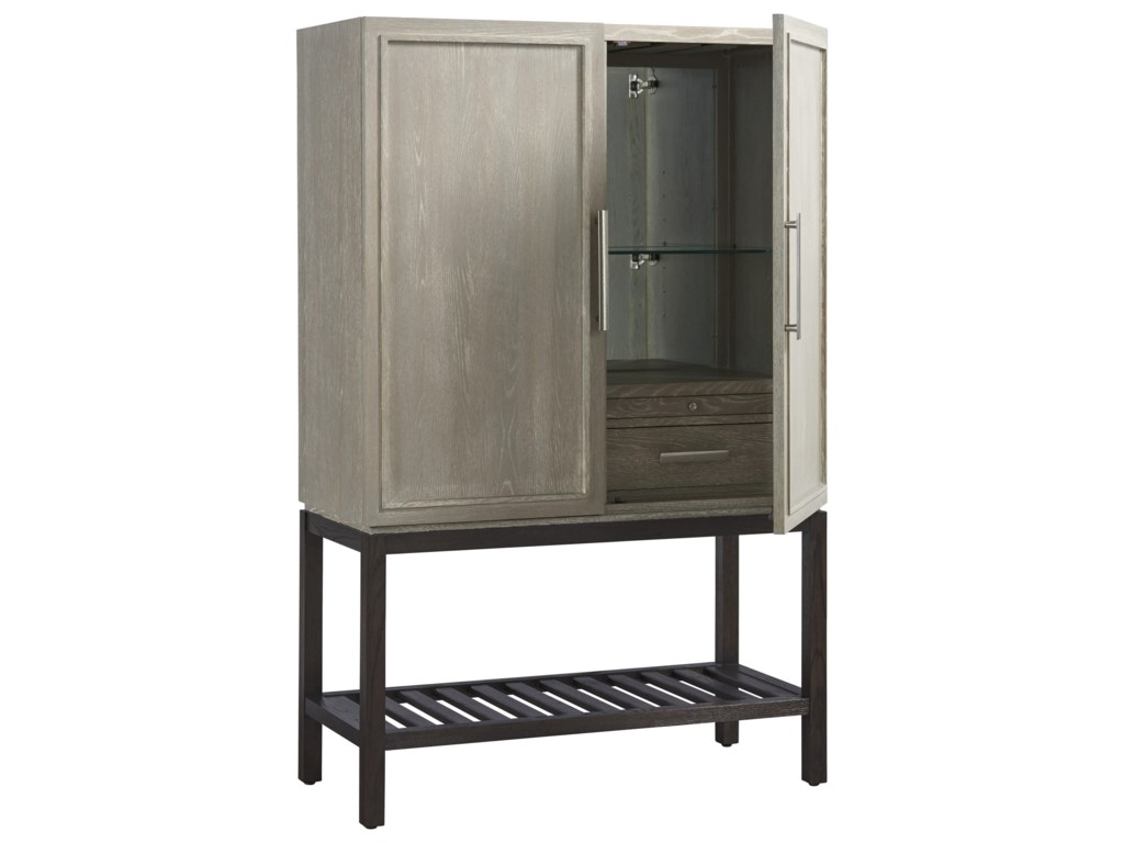 Universal Zephyr Bar Cabinet with Touch Lighting | Morris ... on