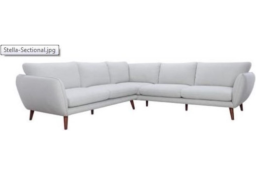 Stella Sectional With Chaise Coffee Tables Ideas