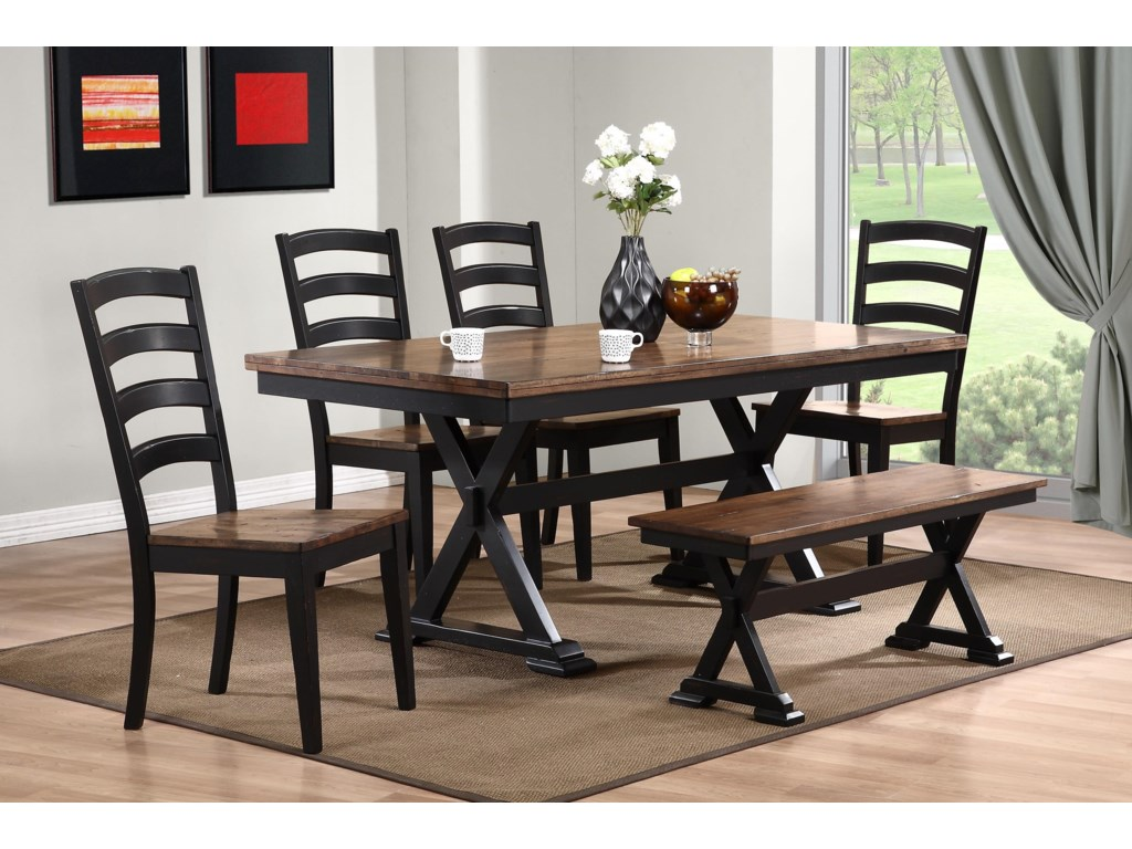 Urban Styles Cambridge6 pc Dining Set