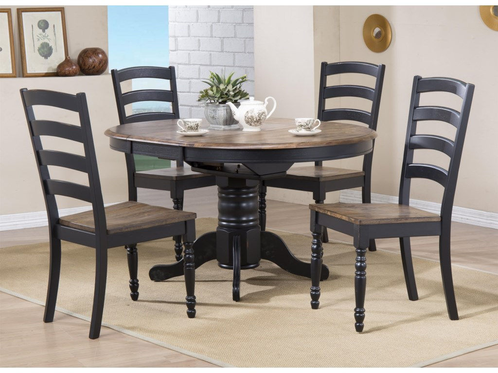 Urban Styles Cambridge 5 Pc Dining Set With Chairs Reeds Furniture