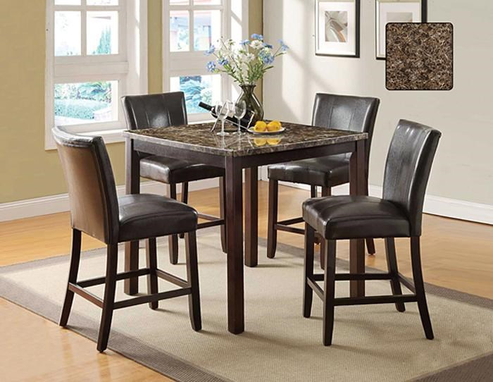 U.S. Furniture Inc 2720 Dinette5 Piece Pub Dining Set