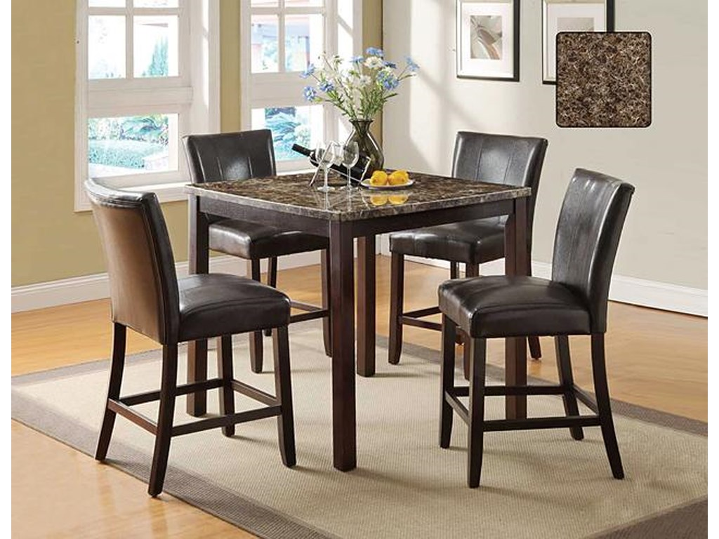 U.S. Furniture Inc 2720 DinetteCounter Height Dining Table