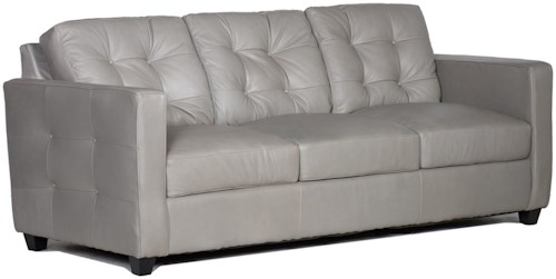 USA Premium Leather 1160 100% Leather Sofa