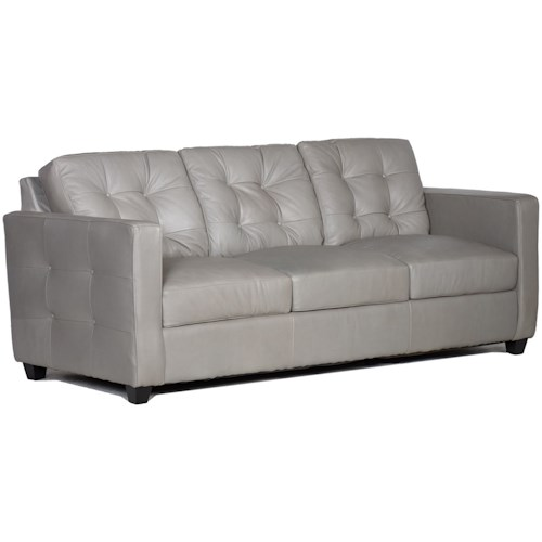 USA Premium Leather 1160 100% Leather Sofa