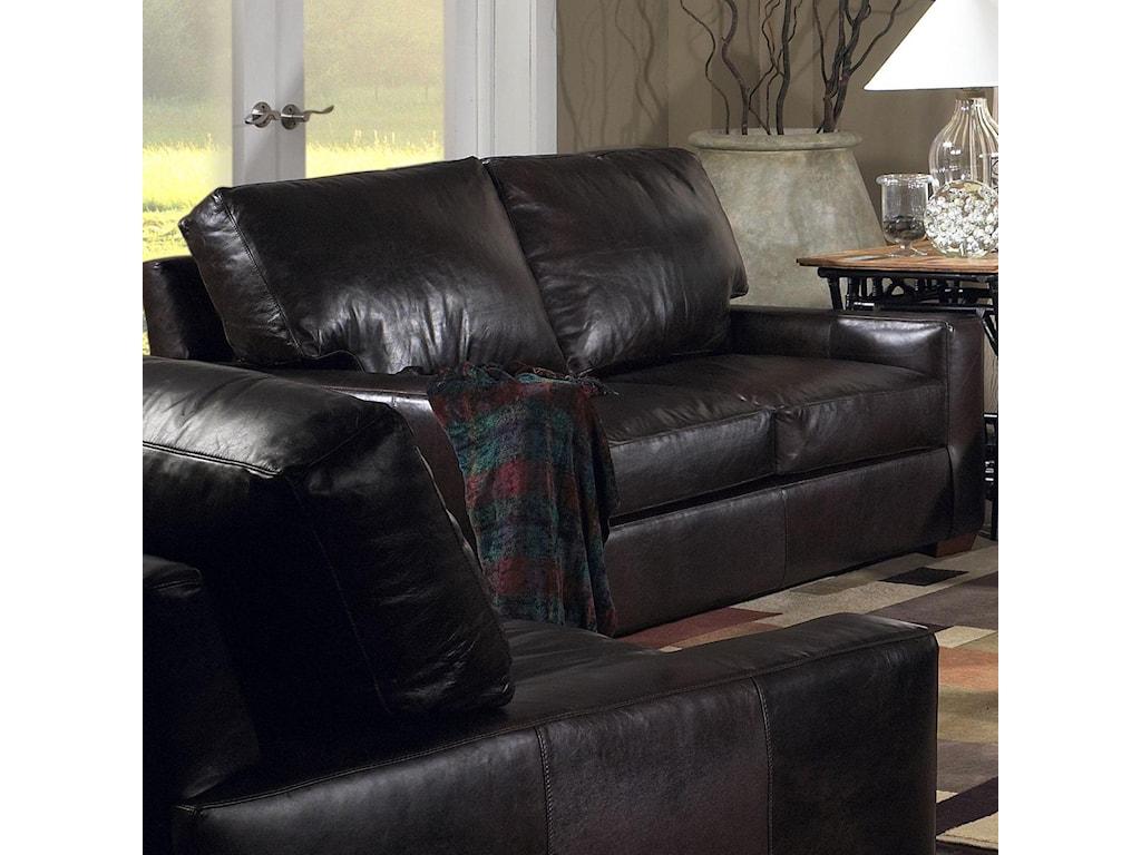 USA Premium Leather 2655Love Seat