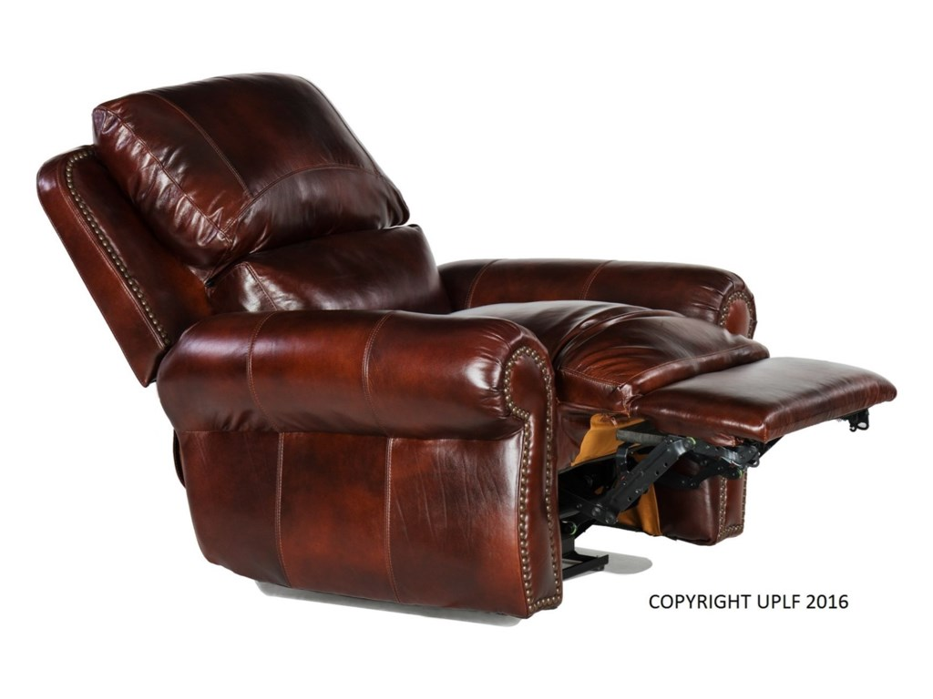 USA Premium Leather 4650Rocking Recliner