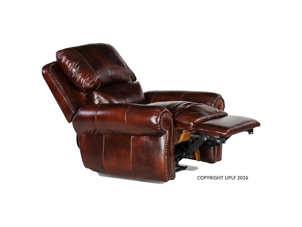 USA Premium Leather 4650Rocking Recliner