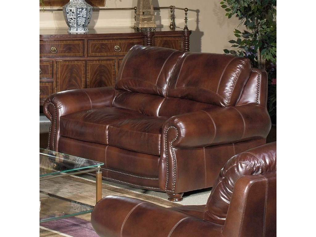 USA Premium Leather 4650Loveseat