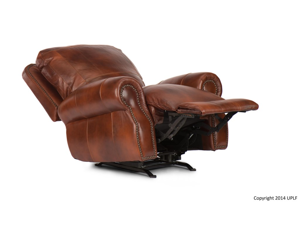 USA Premium Leather 5751Rocker Recliner