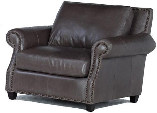 USA Premium Leather 8655 Leather Chair