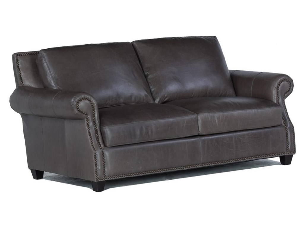 USA Premium Leather 8655Leather Loveseat