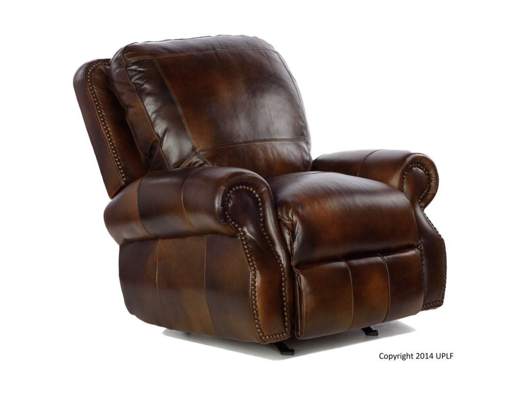 USA Premium Leather 8755Power Recliner