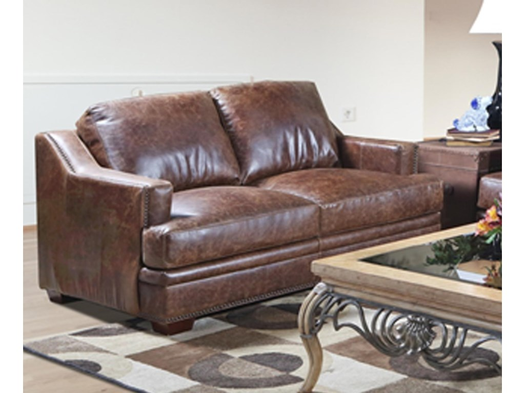 USA Premium Leather 9397 Loveseat