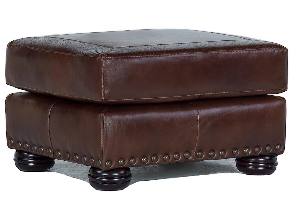 USA Premium Leather 9750Ottoman