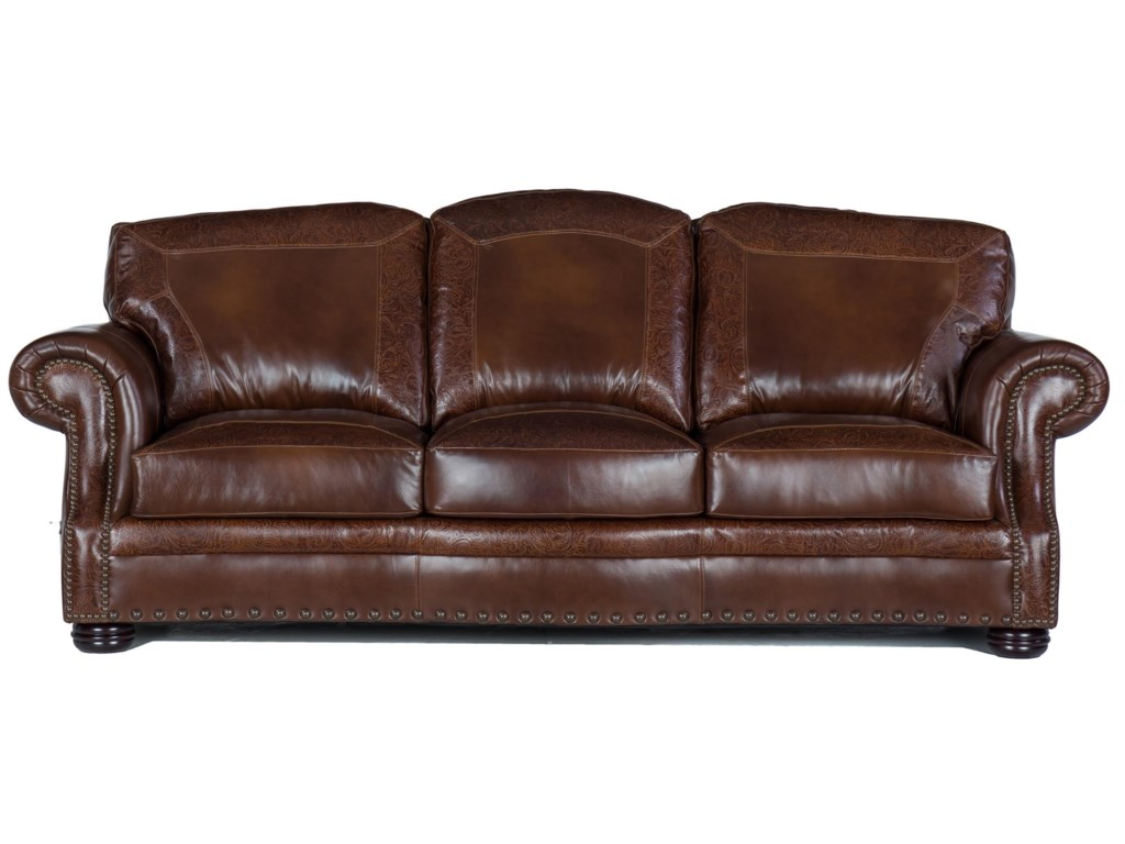 USA Premium Leather 9750Sofa