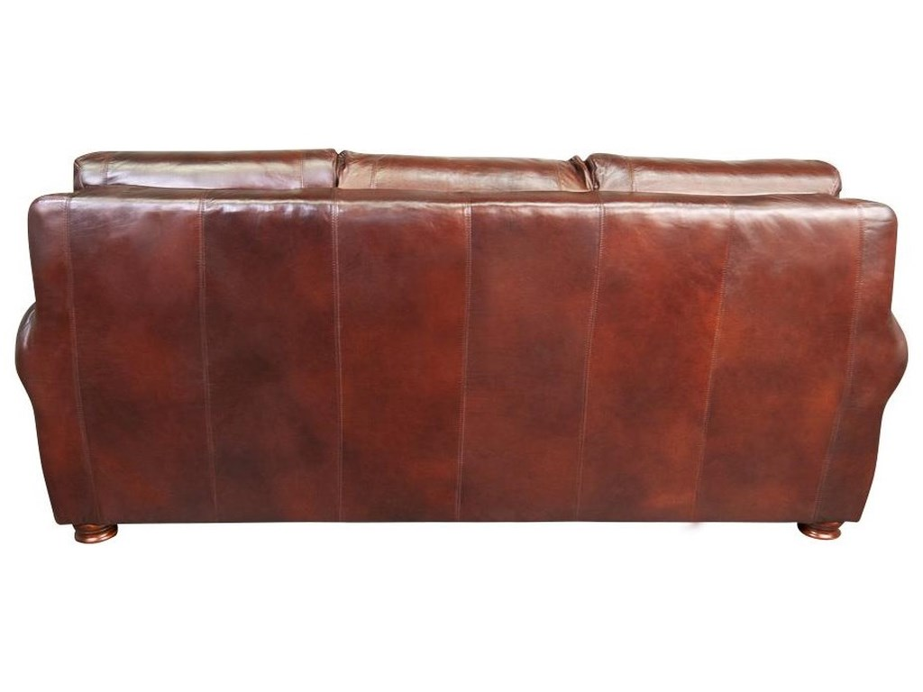 Morris Home PeircePeirce 100% Top Grain Leather Sofa