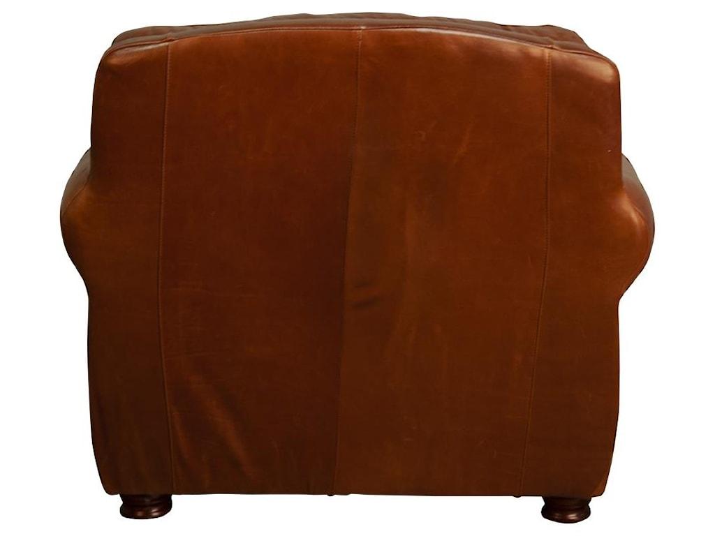 Morris Home RhodasRhodas 100% Top Grain Leather Chair