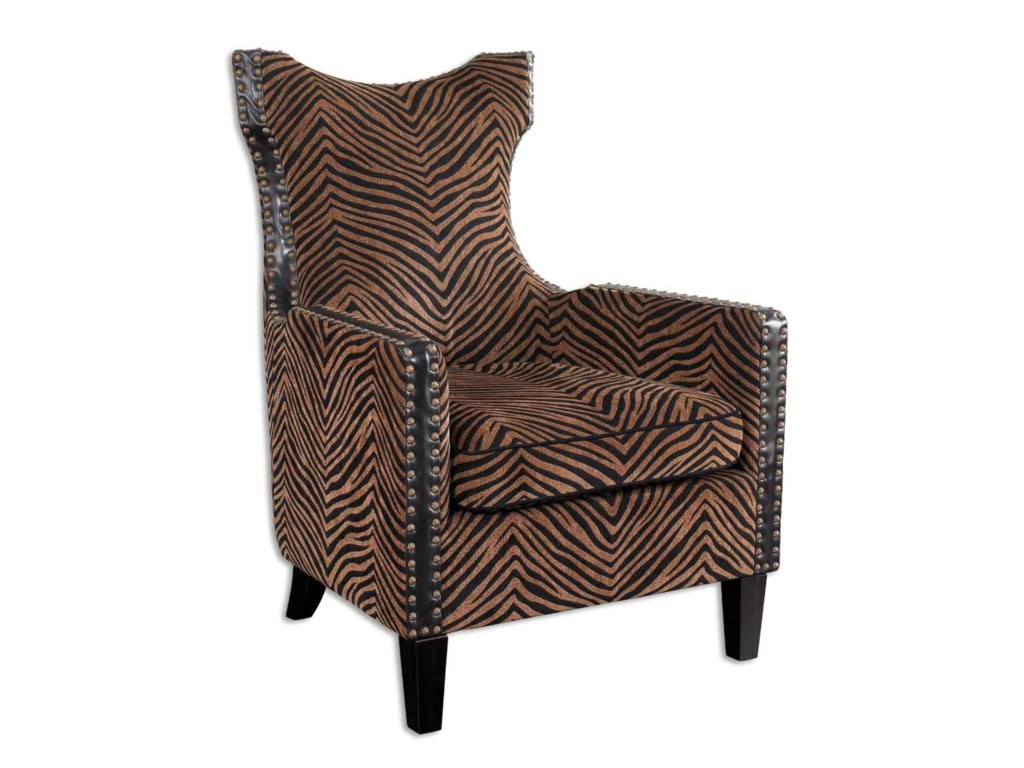 Uttermost Accent Furniture Accent Chairs 23003 Kimoni Transitional