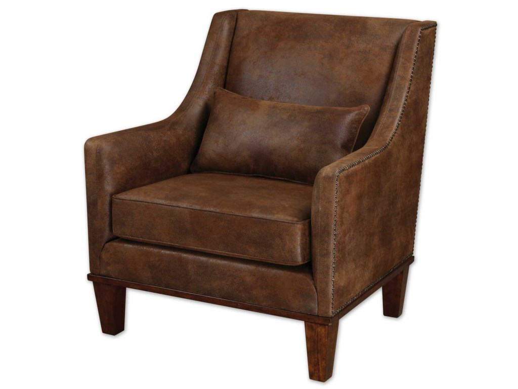 Uttermost Accent Furniture - Accent ChairsClay Armchair
