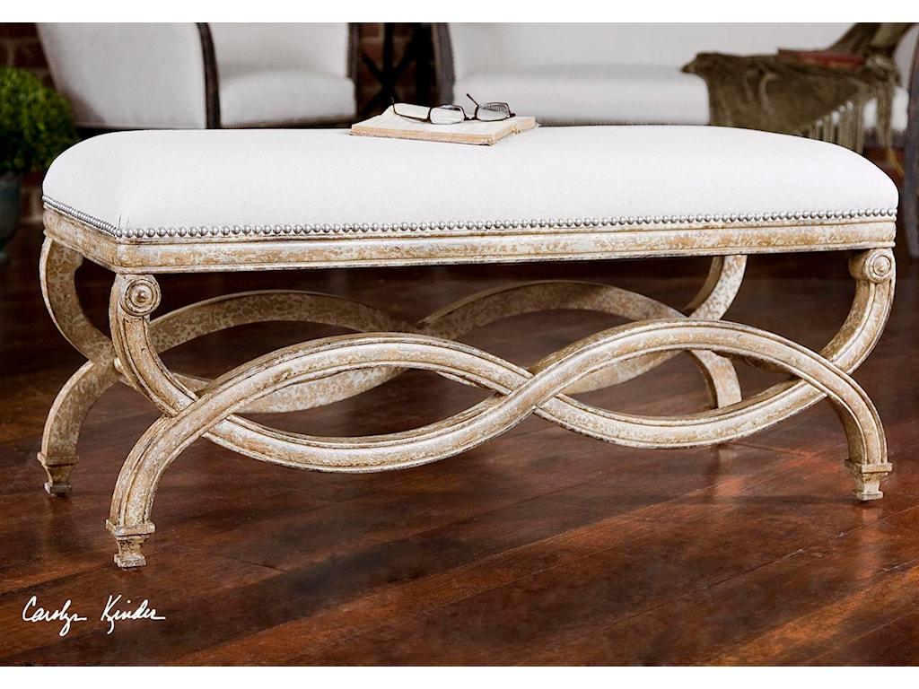 Uttermost Accent FurnitureKarline Bench