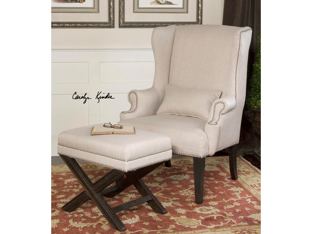 Shown with Coordinating Accent Wing Chair