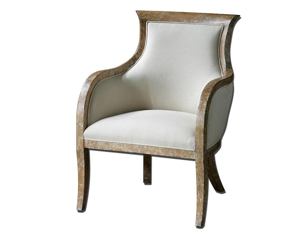 Uttermost Accent FurnitureQuintus Armchair