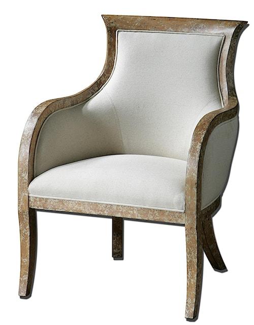 Uttermost Accent Furniture Quintus Modern Armchair
