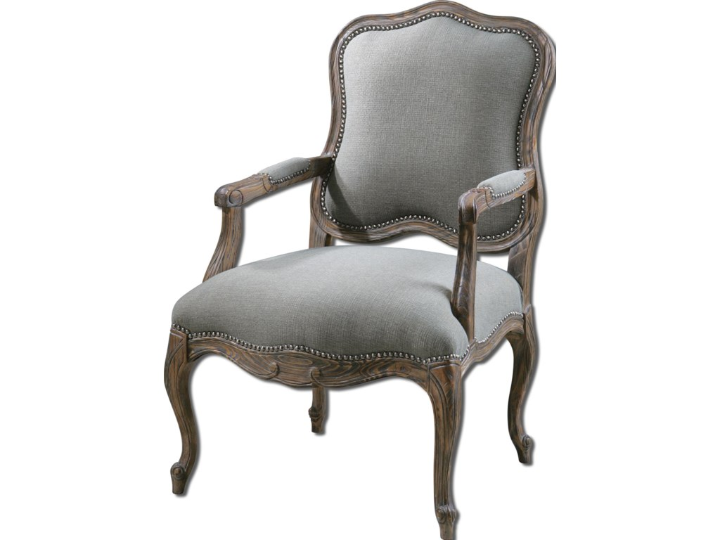 Uttermost Accent Furniture - Accent ChairsWilla Armchair