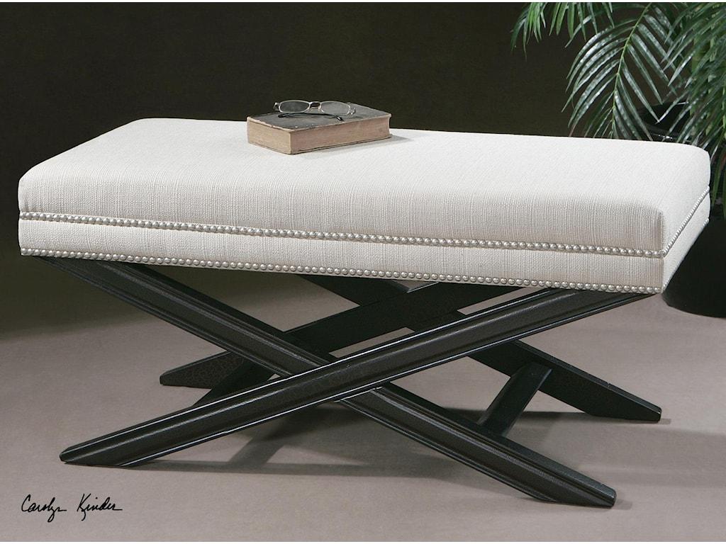 Uttermost Accent Furniture - BenchesViera Bench