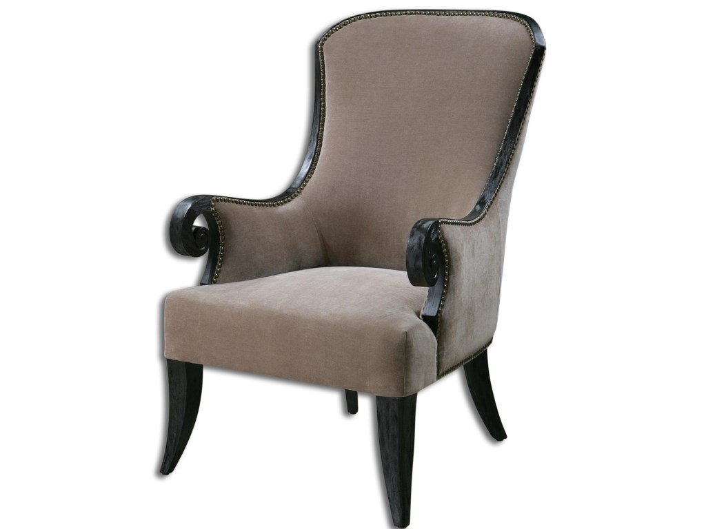 Uttermost Accent FurnitureKandy Taupe ArmChair