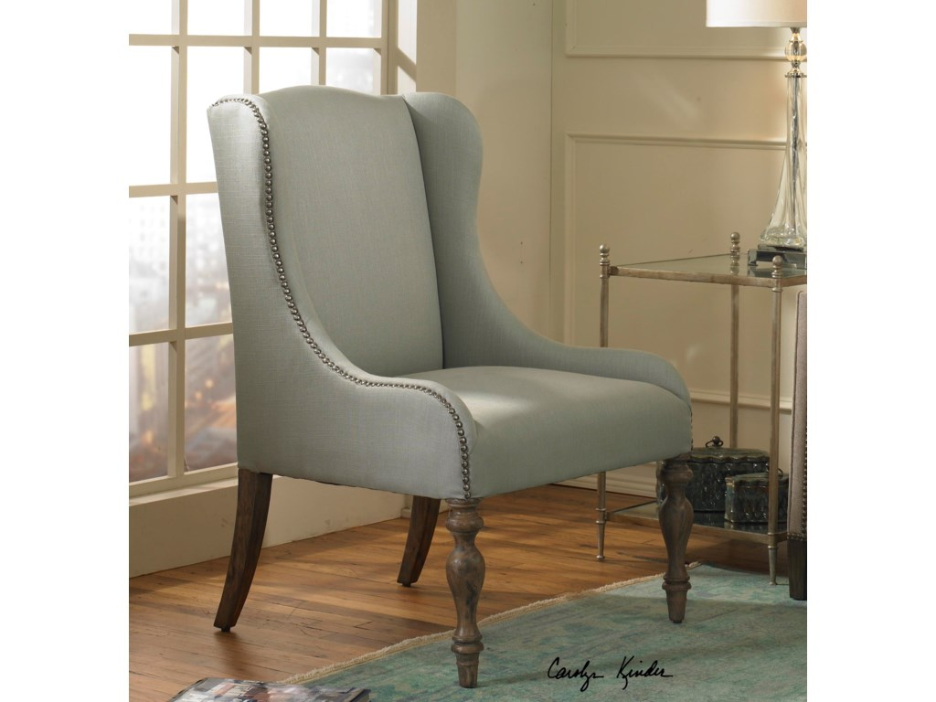 Uttermost Accent Furniture - Accent ChairsFilon Wing Chair