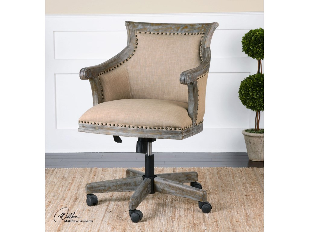 Uttermost Accent FurnitureKimalina Linen Accent Chair