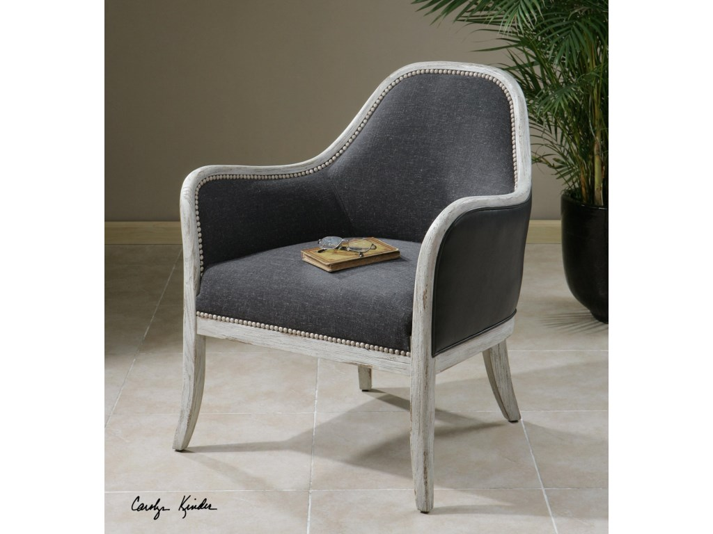 Uttermost Accent FurnitureDayla Indigo Accent Chair