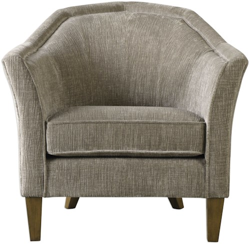 Uttermost Accent Furniture Luca Fabric Accent Chair