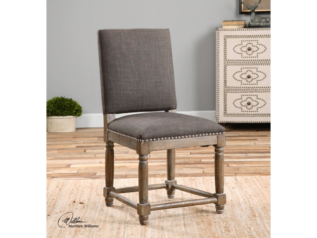 Uttermost Accent Furniture - Accent ChairsLaurens Gray Accent Chair