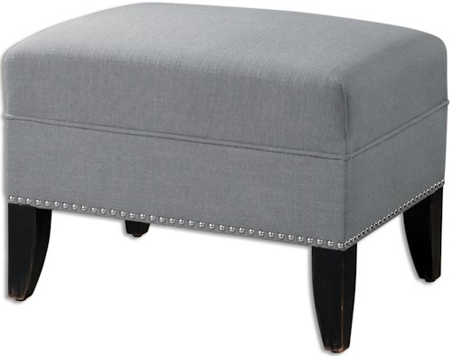 Uttermost Accent Furniture Honesta Ottoman