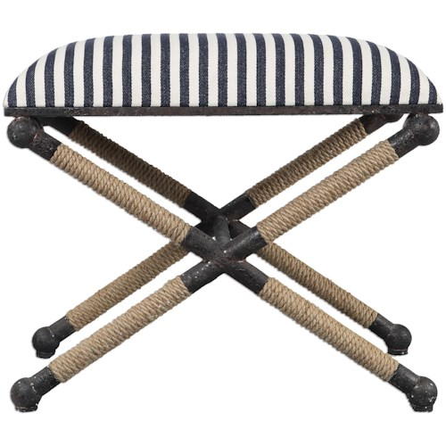 Uttermost Accent Furniture - Benches Braddock Small Bench
