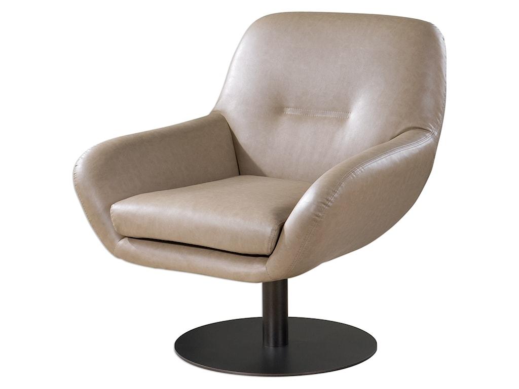 Uttermost Accent FurnitureScotlyn Swivel Chair