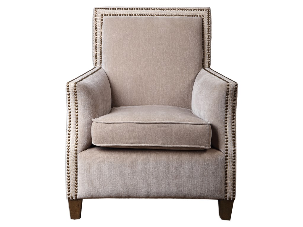 Uttermost Accent FurnitureDarick Oatmeal Armchair
