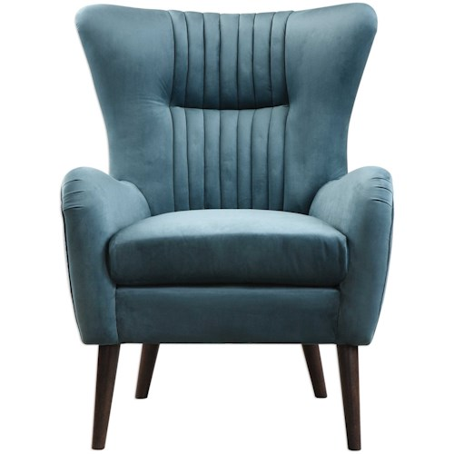 Uttermost Accent Furniture Dax Mid-Century Accent Chair