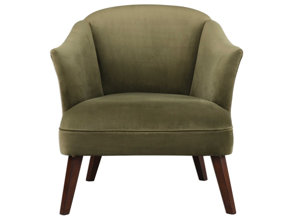 Uttermost Accent Furniture - Accent ChairsConroy Olive Accent Chair