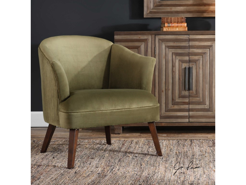 Uttermost Accent FurnitureConroy Olive Accent Chair