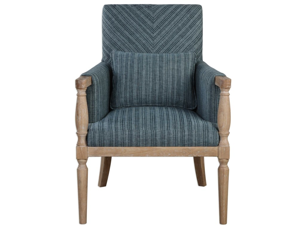Uttermost Accent FurnitureSeamore Pattern Armchair