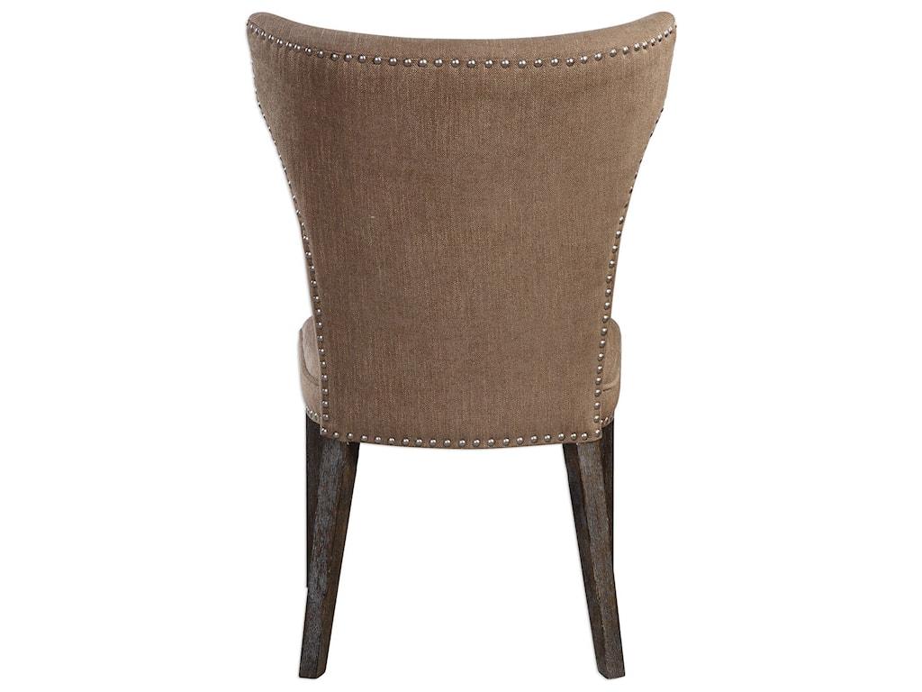 Uttermost Accent FurnitureAaronus Armless Chair